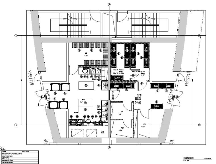 [北京]现代风格华都餐饮空间设计施工图(附效果图)