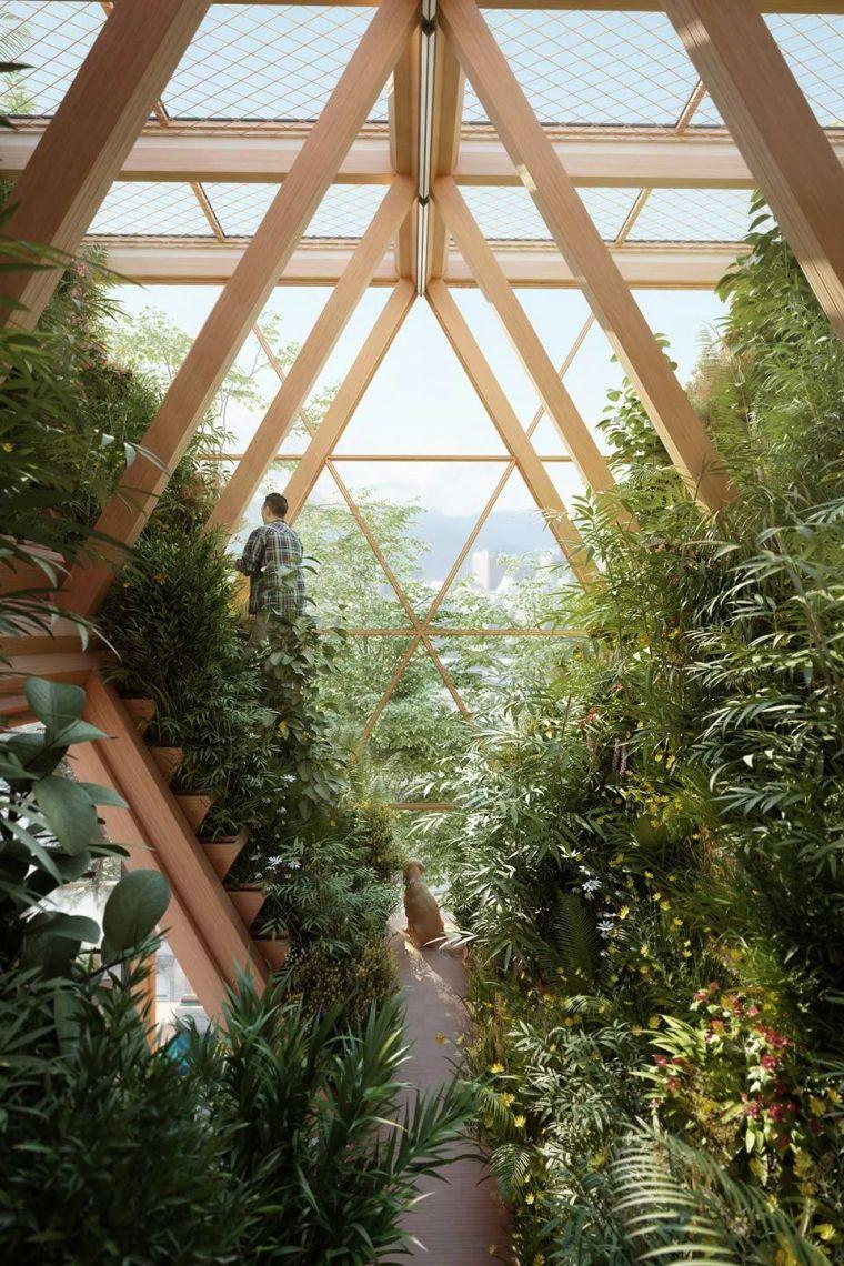 拥有独立生态系统的大楼-城市中的垂直农场_24