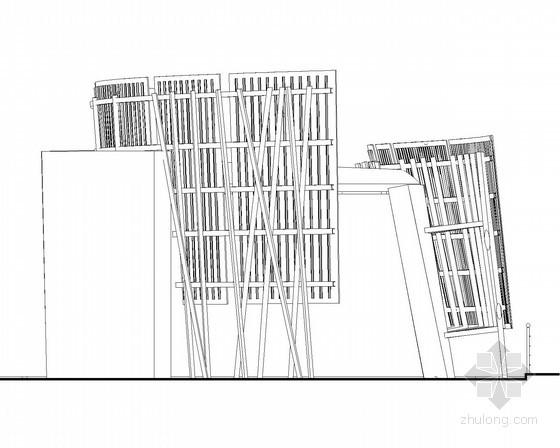 [合集]24套大门建筑施工图(学校、接待中心、公司大门、欧式)_30