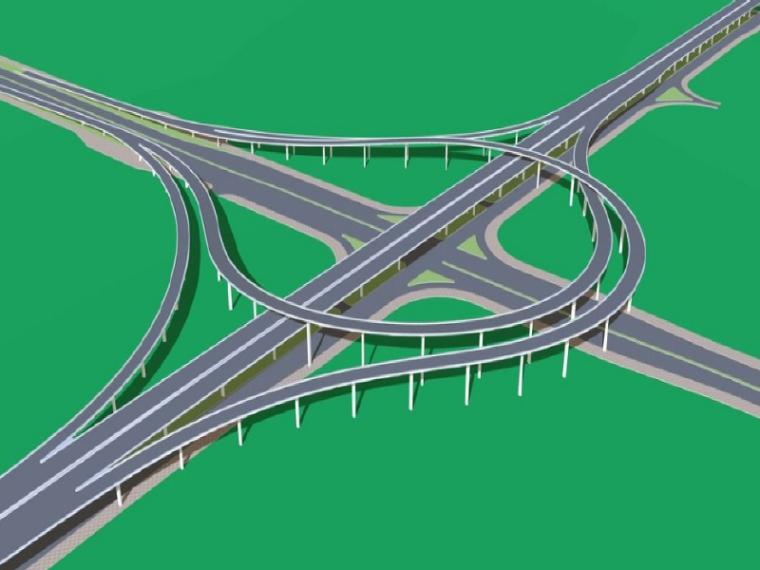 高速公路互通立交土建工程施工施工组织设计(134页)
