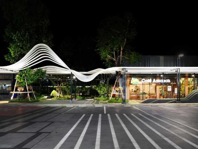 泰国PTT创新站景观