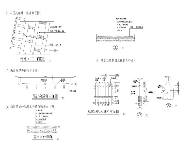 特色园林景观建筑设计施工图-02-Model