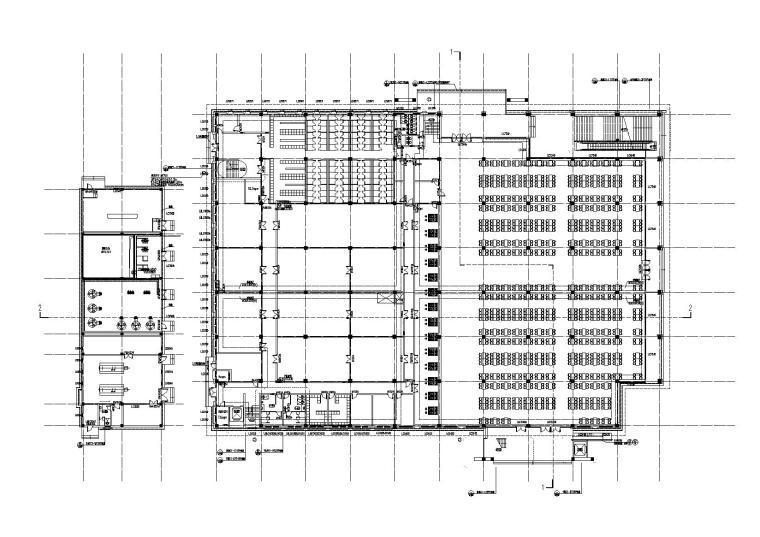 洛阳师范学院第一食堂一层平面图
