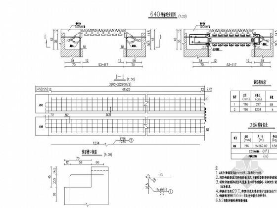 GQF-MZL160伸缩缝安装图