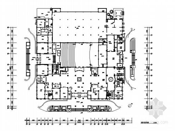 [吉林]特色蒙古族民俗风情综合性五星级酒店室内装修施工图(含效果)
