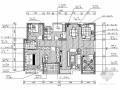 [湖北]高层建筑小区现代四居室装修施工图