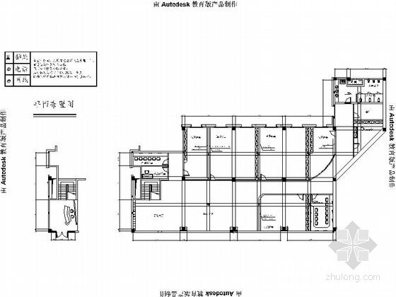 [河北]精品现代风格早教中心室内装修施工图