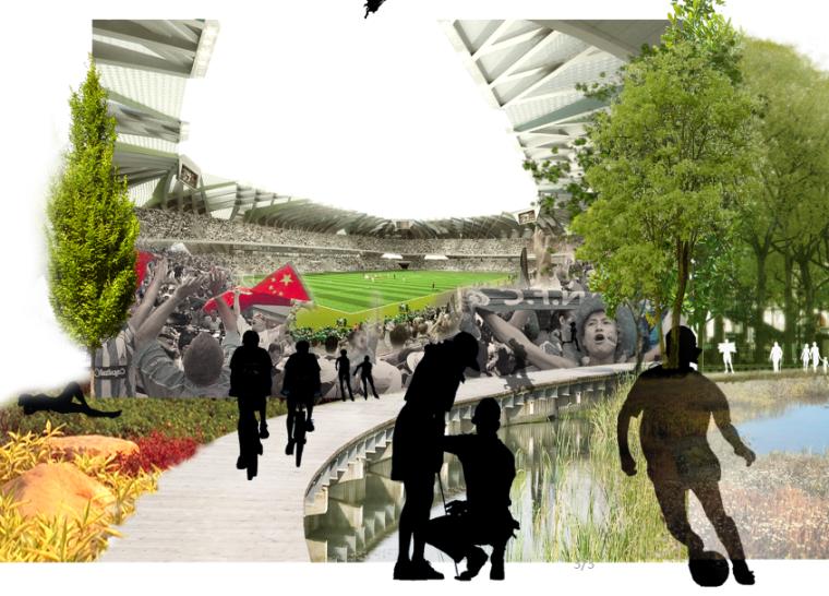 3套AECOM效果图素材-城市景观效果图PSD分层源文件(3)