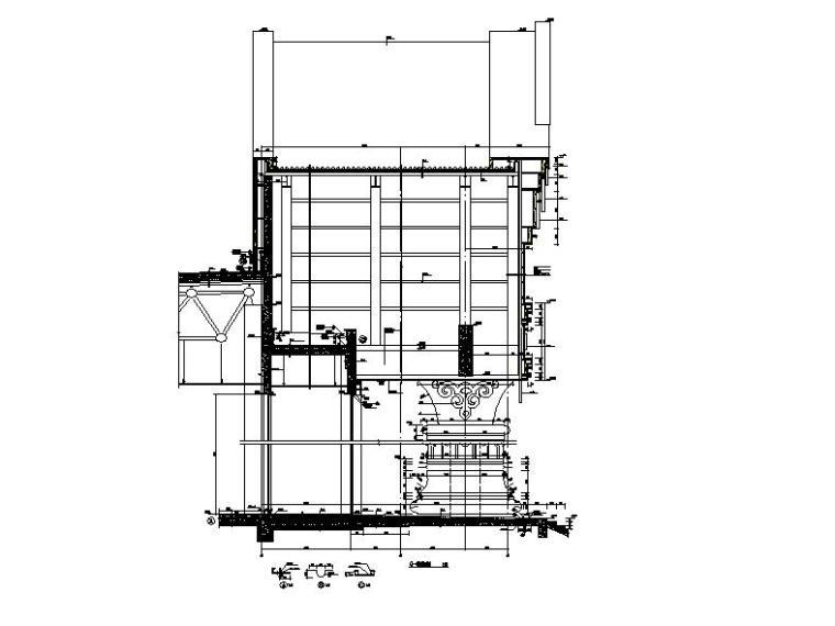 [内蒙古]四层新古典风格多功能文化中心建筑施工图(16年最新)_11