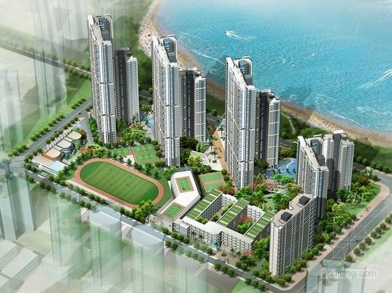[深圳]城市核心区高层住宅小区规划设计方案文本(PPT含音频 CAD图纸)