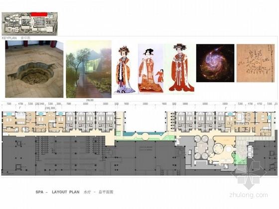 [西安]国家度假区五星级典雅风情温泉酒店室内设计方案