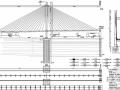 [河南]2015年设计群桩基础H型独塔钢-混凝土结合梁斜拉桥施工图291张(知名大院)