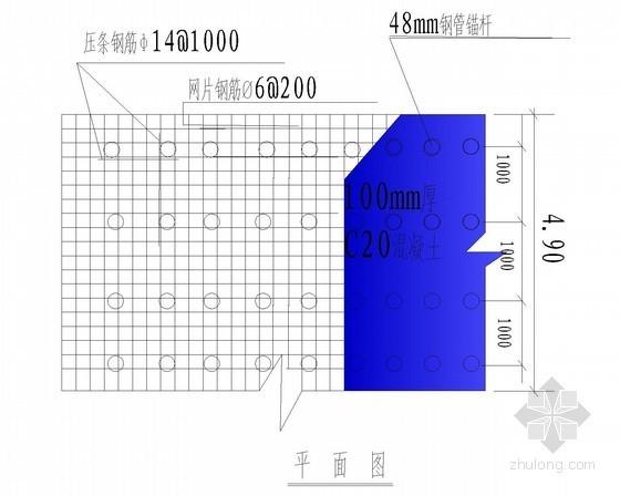 [四川]喷锚基坑支护及降水施工方案