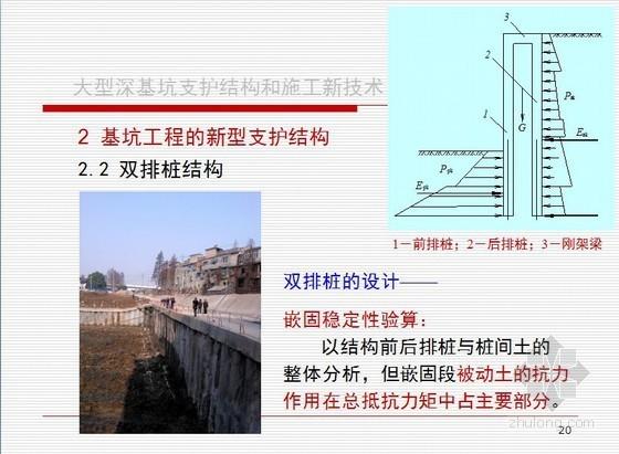 大型深基坑支护施工新技术应用(图文并茂)