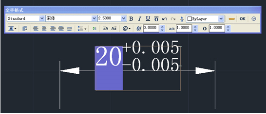 CAD中已标注尺寸如何快速修改_2