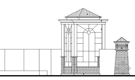 园林大门设计方案