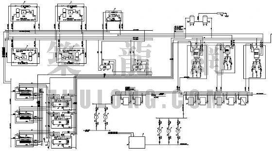 某食品厂氨冷原理图