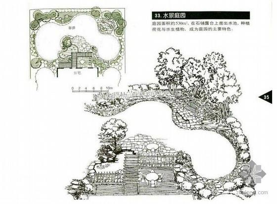 庭院景观设计总平面图60例