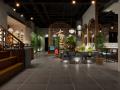 香格里拉餐厅设计《 徽州人家特色餐厅设计》
