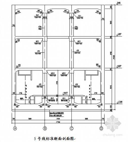 地下三层框架结构岛式站台(宽12m)地铁车站主体结构计算书