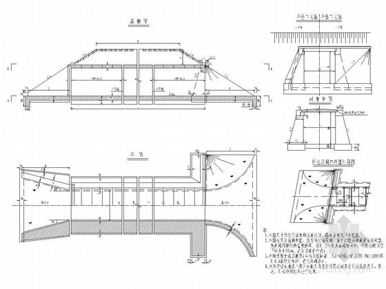 路桥工程钢筋混凝土盖板涵通用图(15张)