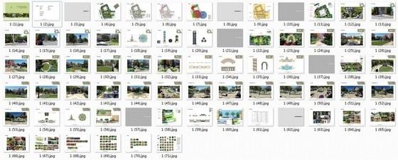 [天津]典雅欧式风情住宅小区附属景观设计方案(超精美效果图)-缩略图