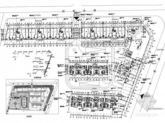 多层住宅小区通风及防排烟系统设计施工图