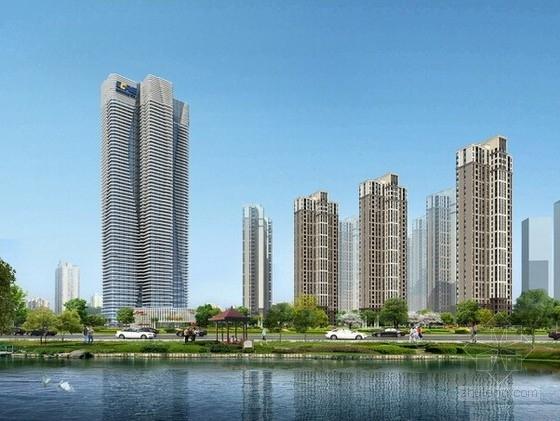 [湖北]20万平大型商住小区楼房结构施工图(总计13栋)
