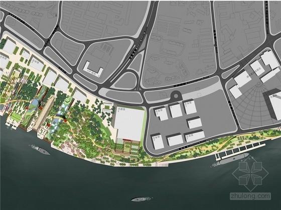 [上海]生态文化广场公园及滨江绿地景观规划设计方案