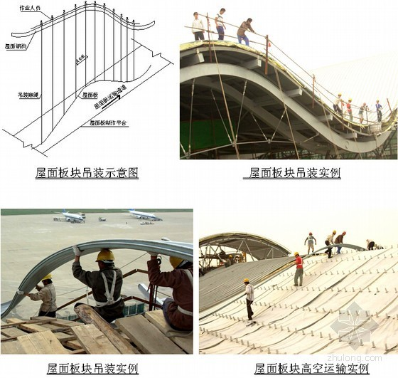 [云南]机场航站楼工程金属屋面系统施工方案(60余页 附图)