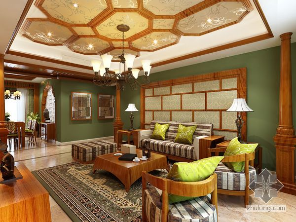 豪华中式家居