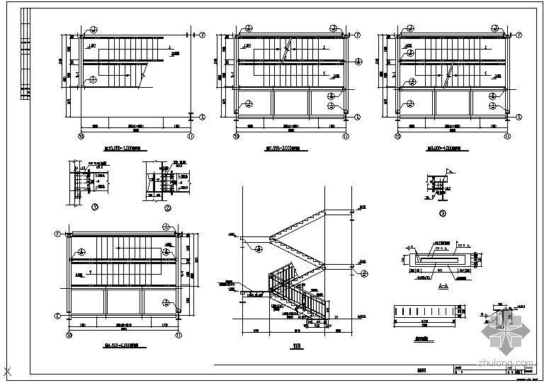 首层顶层楼梯画法_造型详图-衣柜类