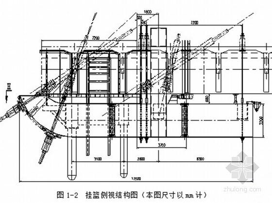 斜拉桥大型挂篮整体下放施工技术
