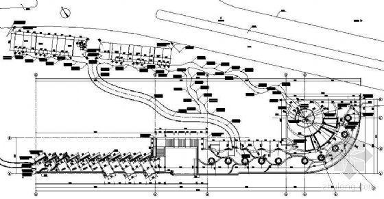 [西安]开发区滨水广场景观施工图