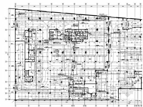 知名商业综合体消防系统施工图纸(写字楼商业地下)