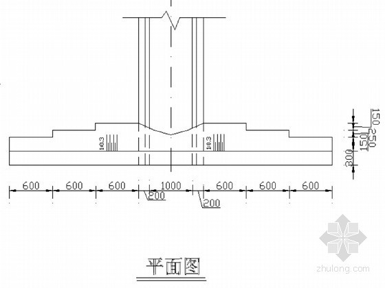 1.0m管涵初步设计图纸