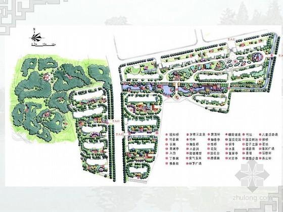 [南京]现代风格居住区景观规划设计方案