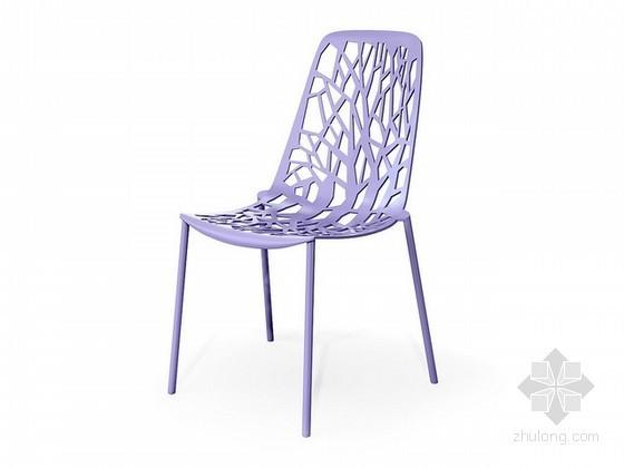 时尚单人椅子3d模型下载