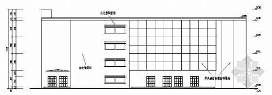 某城市中型商场建筑结构设计图纸