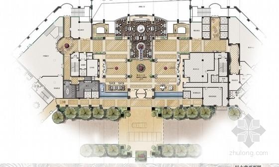 [武汉]精品时尚高端五星级温泉度假主题酒店设计方案图