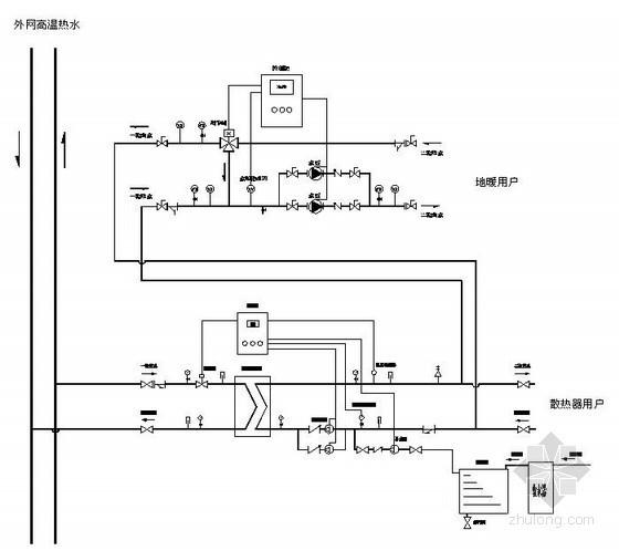 换热站机组原理图