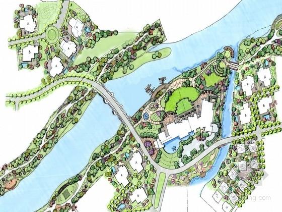 [成都]北美风格高档别墅区设计方案