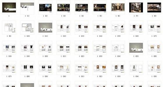 [河南]高档现代休闲会所室内软装方案图资料图纸总缩略图