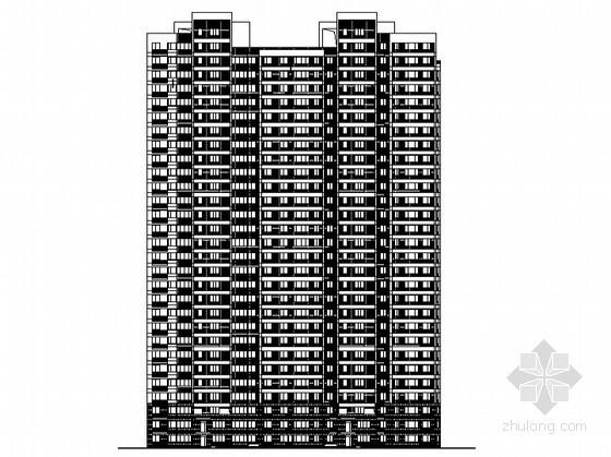 某三十层住宅楼建筑施工图