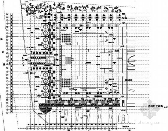 [成都]科技园区园林景观工程施工图