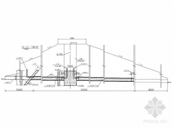 [湖南]塘坝低涵溢洪道工程施工图