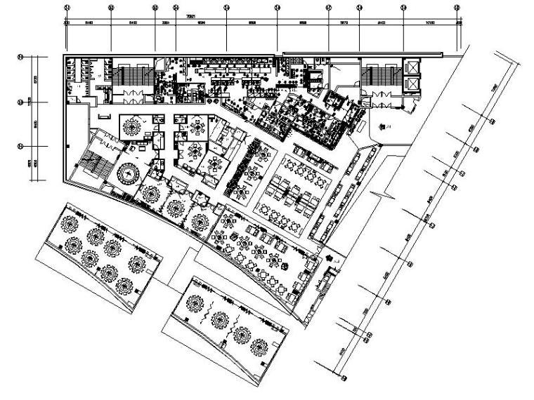 [北京]优雅唯美云南特色餐厅室内设计施工图(含效果图)_2