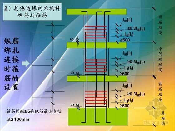 建筑工程剪力墙平法制图规则及构造图解(96页 图文并茂)