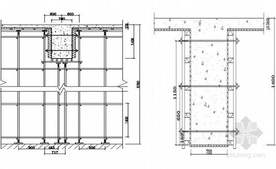 [河南]框架商务酒店工程高支模施工方案(近100页)