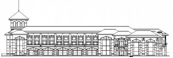 某酒店二層會所建筑施工圖